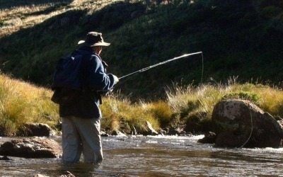 Fly Fishing trek up the Bokspruit